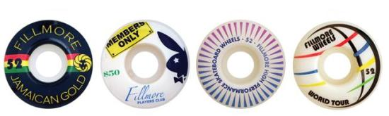 Filmore Skateboard Wheels